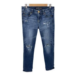 Express Low Rise Boyfriend Denim Jeans 6